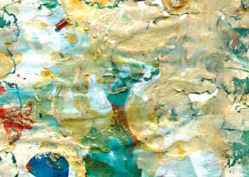 Pintura abstracta de Sandra de Miguel Llorente