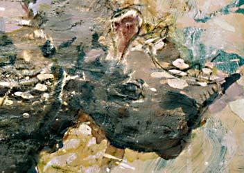 Pintura o ilustración de un rinoceronte