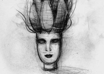 Ilustraciones de retratos de mujeres